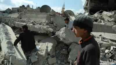 دمشق: غوطہ میں جاں بحق ہونیوالوں کی تعداد 600 سے زائد ہو گئی