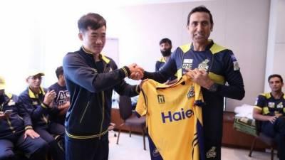 چینی کرکٹرز نے پشاور زلمی کی ٹیم کو جوائن کر لیا