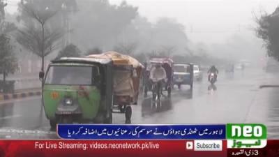 بارشوں کا نیا سلسلہ کب تک جاری رہے گا؟ محکمہ موسمیات نے بتا دیا