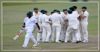 آسٹریلیا نے جنوبی افریقہ کو پہلے ٹیسٹ میں 118 رنز سے شکست دیدی