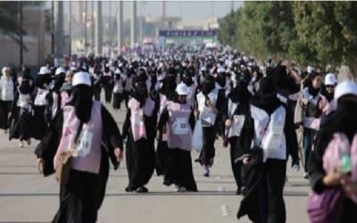 سعودی عرب: پہلی میراتھن دوڑ مزنہ النصار نے جیت لی