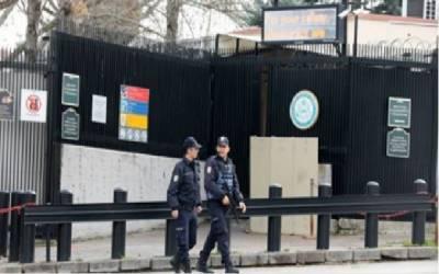 ترکی میں امریکی سفارتخانے کو سیکیورٹی خدشات کے پیش نظر بند کر دیا گیا