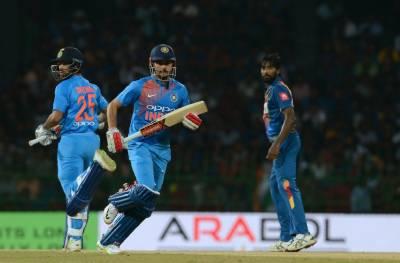 سری لنکا نے بھارت کو سہ ملکی سیریز کے پہلے میچ میں عبرتناک شکست دیدی