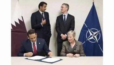 قطر نے نیٹو کو العبید فوجی اڈہ استعمال کرنے کی اجازت دے دی