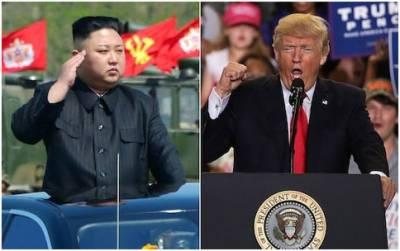 ٹرمپ شمالی کوریا کے صدر سے ملاقات کیلئے رضا مند