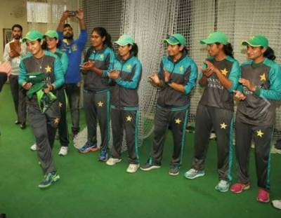 قومی ویمن کرکٹ ٹیم دورہ سری لنکا کیلئے روانہ ہو گئی
