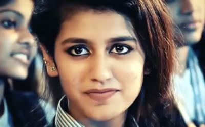 پریا پرکاش کو انسٹاگرام پر ایک پوسٹ کی 8 لاکھ روپے آمدنی