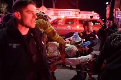 نیویارک کے علاقے مین ہیٹن میں ہیلی کاپٹر گرکرتباہ،2 افراد ہلاک