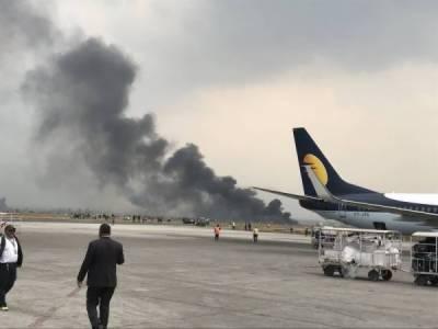 نیپال کے دارالحکومت میں بنگلہ دیش کا مسافر طیارہ گر کر تباہ