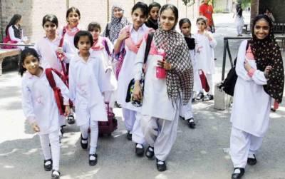 حساس اداروں نے پنجاب میں 10 اضلاع کے 5 ہزار سکولوں کے بارے سکیورٹی الرٹ جاری کردیا
