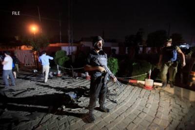 رائیونڈ میں پولیس کیمپ کے قریب دھماکہ ،9افراد شہید