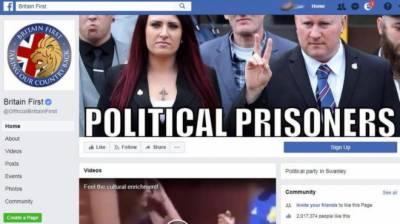 """فیس بک نے مسلم مخالف گروپ""""برطانیہ فرسٹ"""" پر پابندی لگادی"""