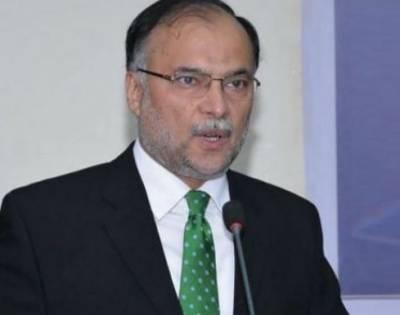 پاکستان میں انتخابات وقت پر ہوں گے:وزیرداخلہ احسن اقبال