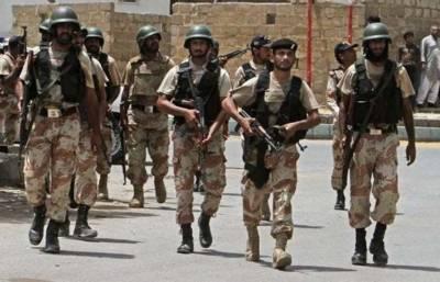 رینجرز کی سندھ بھر میں کارروائیاں ، مختلف علاقوں سے سات ملزمان گرفتار