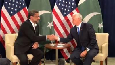 وزیراعظم کی امریکی نائب صدر سے ملاقات،پاکستان سے مزید ڈومور کا مطالبہ