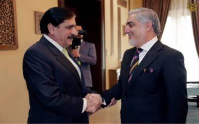 طالبان کو نئی امن پیشکش سے فائدہ اٹھانا چاہئے،ناصر جنجوعہ اور افغان چیف ایگزیکٹو کے درمیان ملاقات میں اتفاق