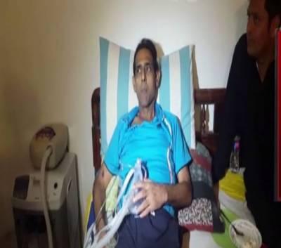 شاہد آفریدی کا ہاکی اولمپئن منصور احمد کا علاج کرانے کا اعلان