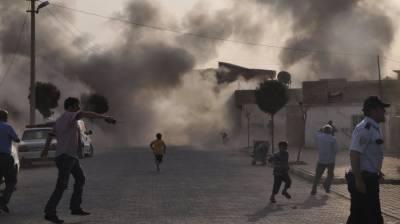 شام : دمشق کی نواحی مارکیٹ میں راکٹ حملے سے 35 افراد ہلاک