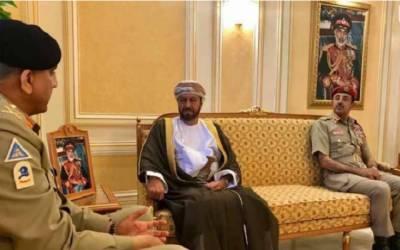 آرمی چیف کی عمان کے وزیر دفاع سے ملاقات، باہمی دلچسپی، دفاع پر تبادلہ خیال