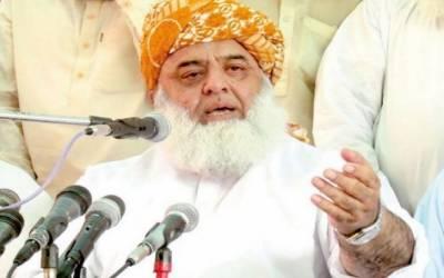 پاکستان کو امریکی جنگ کا حصہ بنا کر دلدل کی طرف دھکیلا گیا: فضل الرحمان