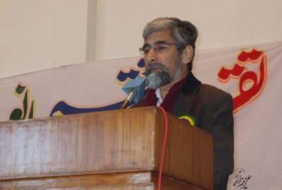 معروف ماہر تعلیم اور دانشور پروفیسر فضل حق انتقال کر گئے
