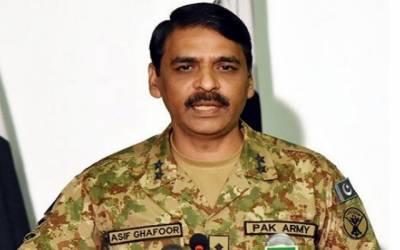 ڈی جی آئی ایس پی آر کا یوم پاکستان کی تقریب کے انعقاد میں تعاون پر میڈیا کا شکریہ