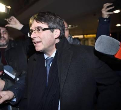 سپین کو بغاوت کے مقدمے میں مطلوب کاتالونیا کے سابق صدر جرمنی سے گرفتار