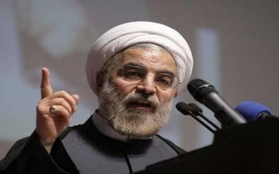 ایران نے ہمسایہ ملکوں کے ساتھ تعاون کے فروغ کو ترجیح دی ہے: حسن روحانی