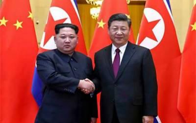 شمالی کوریا کے سربراہ کم جونگ ان کا اقتدار سنبھالنے کے بعد پہلا غیر ملکی دورہ، چینی صدر سے ملاقات