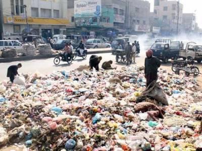 کراچی کے 4 اضلاع میں کچرا اٹھانے کا کام ٹھیکوں پر دیدیا گیا