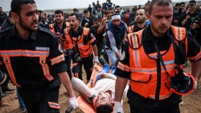 غزہ میں صیہونی فوجی پھر آپے سے باہر،فائرنگ سے 16 فلسطینی شہید،1ہزار سے زائد زخمی