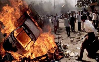 بھارتی عدالت کا متنازع فیصلہ، ہنگامے کے نتیجے میں 9 افراد ہلاک