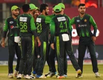 پاکستان نے مسلسل سات ٹی 20 سیریز اپنے نام کر لیں
