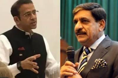 بھارتی ہائی کمشنر اجے بساریا کہ قومی سلامتی کے مشیر ناصر جنجوعہ سے ملاقات