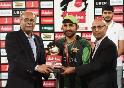 پاکستان ٹیم دنیا کی ہر ٹیم کے ساتھ مقابلے کیلئے تیار ہے ، سرفراز احمد