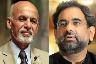 وزیراعظم شاہد خاقان عباسی آج افغانستان کا ایک روزہ دورہ کریں گے