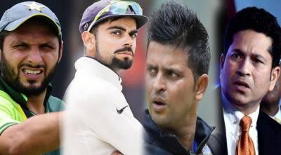 بھارتی کھلاڑی شاہد آفریدی کے خلاف زہر اگلنے سے باز نہ آئے