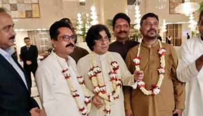 رہنما ایم کیو ایم رؤف صدیقی نے شادی کر لی