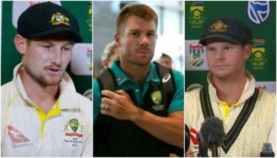 آسٹریلوی کھلاڑیوں کا بال ٹیمپرنگ میں ملنے والی سزاؤں کیخلاف اپیل نہ کرنے کا فیصلہ