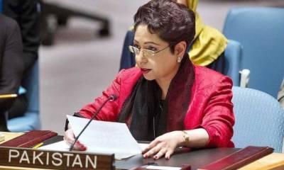 'پاکستان اقوام متحدہ میں کشمیریوں کا مقدمہ اخلاقی اور قانونی بنیاد پر لڑ رہا ہے'