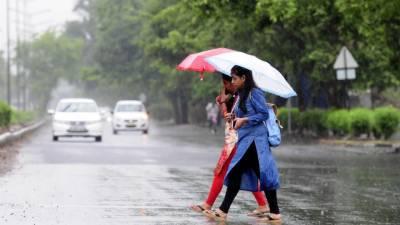 محکمہ موسمیات کی آج سے منگل کے دوران ملک میں تیز ہواﺅں کیساتھ بارش کی پیشگوئی