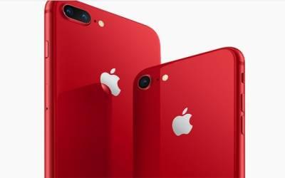 آئی فون 8 اور 8 پلس کا خصوصی ایڈیشن سرخ رنگ میں متعارف