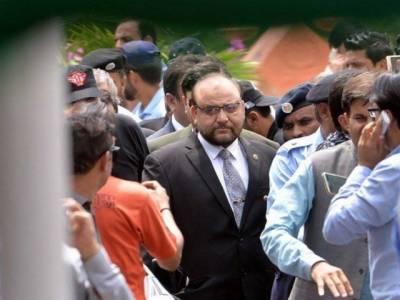 ایون فیلڈ ریفرنس، نواز شریف کے وکیل کی واجد ضیاء پر جرح مکمل
