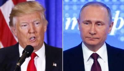 روس شام میں امریکی میزائلوں کے حملے کیلئے تیار رہے: ڈونلڈ ٹرمپ