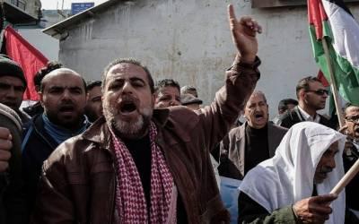 اسرائیل کی ریاستی دہشت گردی کے خلاف ہزاروں فلسطینی متحد