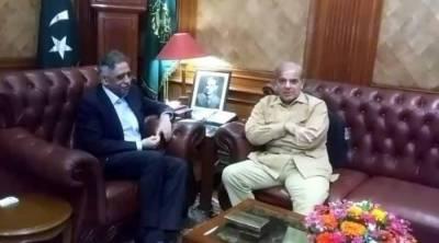 شہباز شریف کی گورنر سندھ سے ملاقات، اہم امور پر تبادلہ خیال