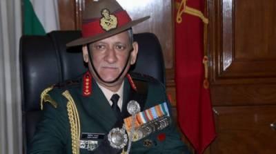 بندوق کے زور پر مقبوضہ کشمیر میں بھارتی فوج کامیاب نہیں ہو سکتی، بھارتی آرمی چیف