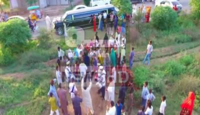 گجرات: خانہ بدوش نے رئیس زادوں کو پیچھے چھوڑ دیا