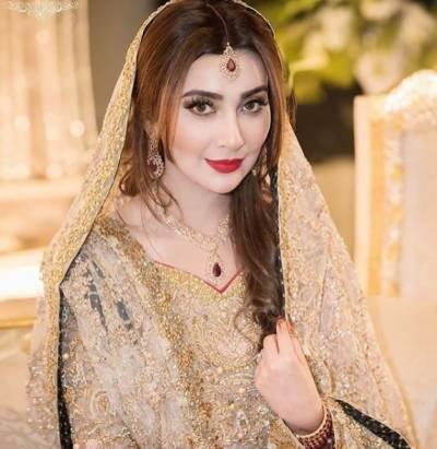 سابق اداکارہ عائشہ خان کے ولیمے کی تصاویر بھی سامنے آگئیں