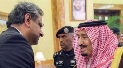 وزیر اعظم کی شاہ سلمان سے اہم ملاقات، باہمی امور پر تبادلہ خیال